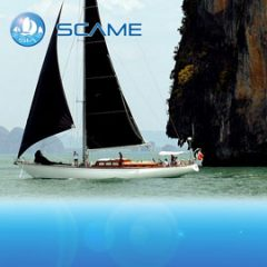 Scame classic yacht charter sail in asia
