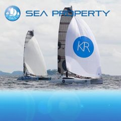 Sea Property racing yacht charter sail in asia
