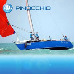 Pinnochio racing yacht charter sail in asia