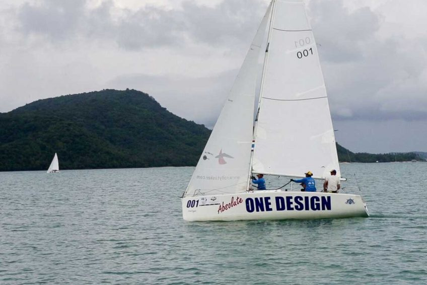 Sail in Asia's Absolute One Design