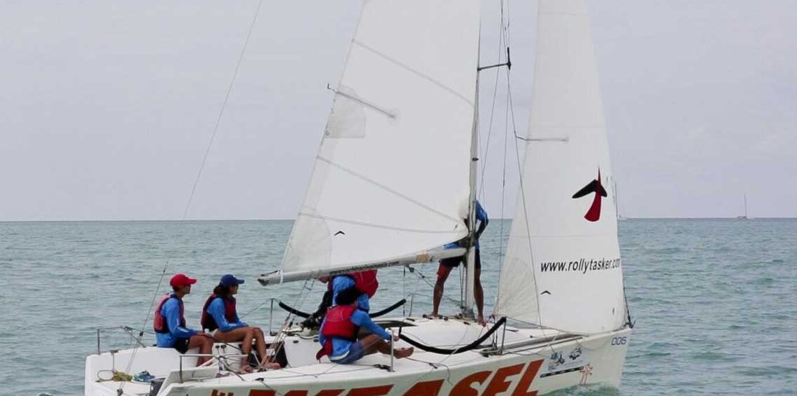 Platu Racing training with Sail in Asia