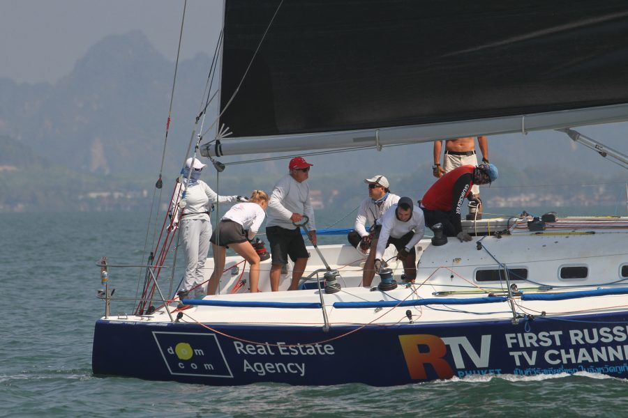 IRC Yacht Racing in Asia
