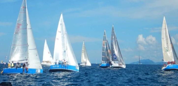 Yacht racing in Phuket Thailand