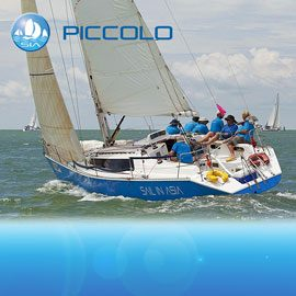 Piccolo racing yacht charter sail in asia