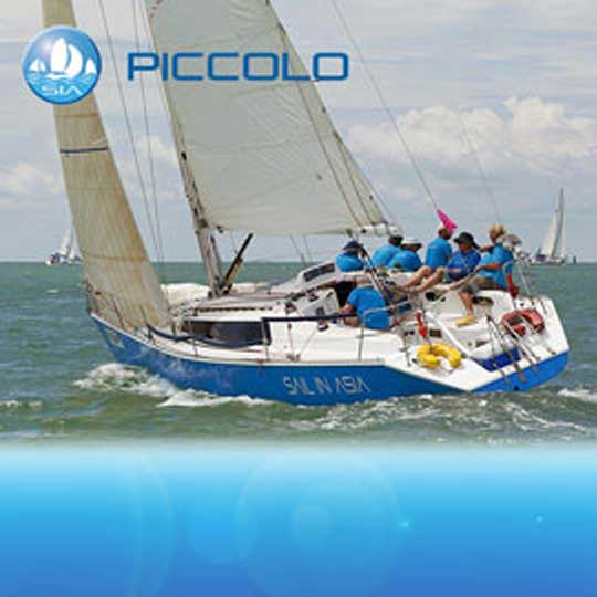 Piccolo IRC yacht racing in Asia